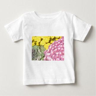 Camiseta Para Bebê Produtos da flor
