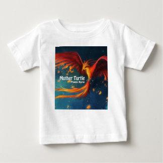 Camiseta Para Bebê Produtos da tartaruga da mãe