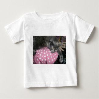 Camiseta Para Bebê Produtos do gato