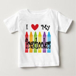 Camiseta Para Bebê professor pré-escolar