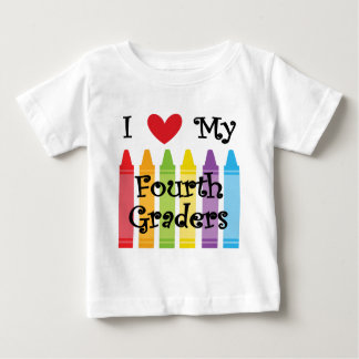Camiseta Para Bebê Professor quarta série