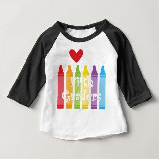 Camiseta Para Bebê Professor quinto grau