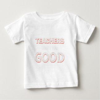 Camiseta Para Bebê Professores que vão aprendê-lo bom