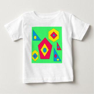 Camiseta Para Bebê Projetos do abstrato