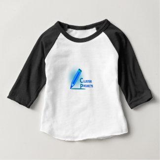 Camiseta Para Bebê Projetos do conjunto