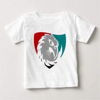 Camiseta Para Bebê Protetor da protecção de segurança do falcão