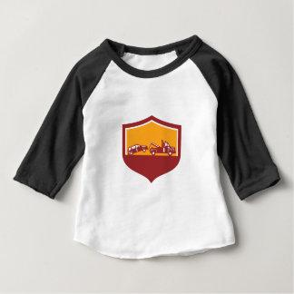 Camiseta Para Bebê Protetor do carro de reboque do caminhão de