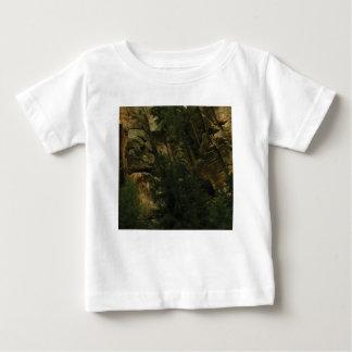 Camiseta Para Bebê protuberâncias e colisões da rocha