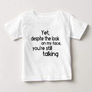 Camiseta Para Bebê Provérbio original do humor engraçado
