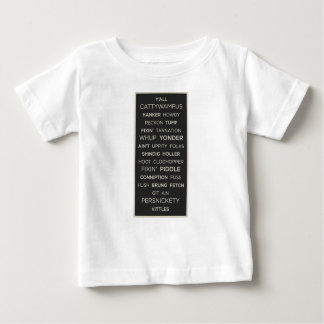 Camiseta Para Bebê Provérbios do sul