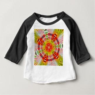 Camiseta Para Bebê Psicadélico