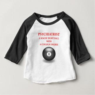Camiseta Para Bebê psiquiatra