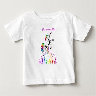 Camiseta Para Bebê Psto pelo Tshirt do bebê dos unicórnios