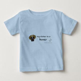 Camiseta Para Bebê pugilista