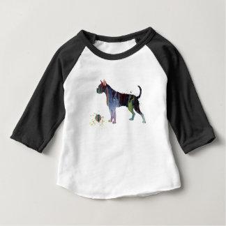 Camiseta Para Bebê Pugilista com brinquedo