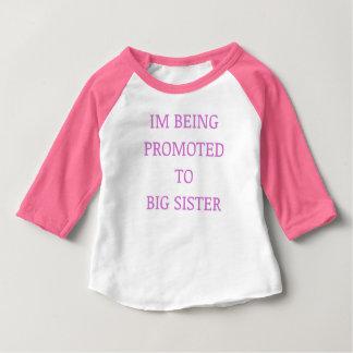 Camiseta Para Bebê Punk da promoção da irmã mais velha