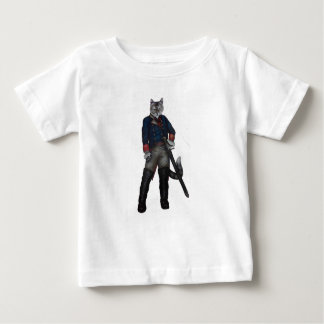 Camiseta Para Bebê Puss nas botas!