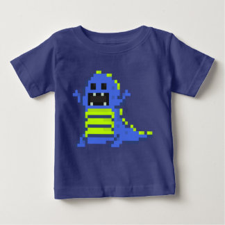 Camiseta Para Bebê PXL T-Rex (Bl)