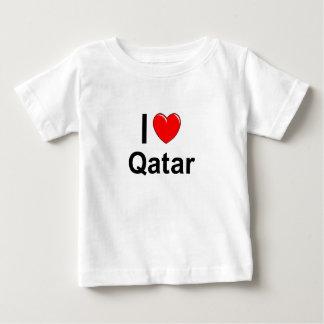 Camiseta Para Bebê Qatar