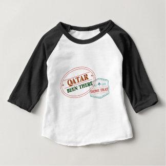 Camiseta Para Bebê Qatar feito lá isso