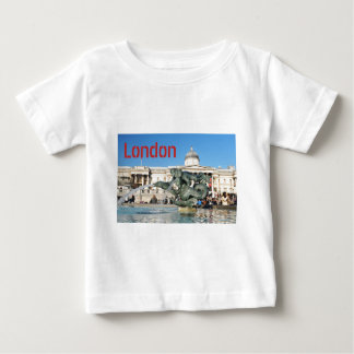 Camiseta Para Bebê Quadrado de Trafalgar em Londres, Reino Unido