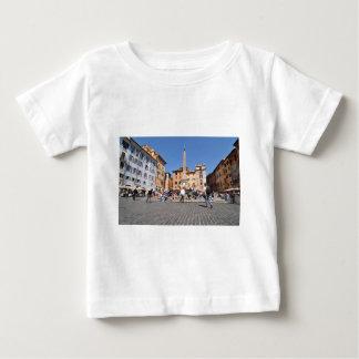 Camiseta Para Bebê Quadrado em Roma, Italia