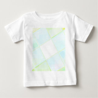 Camiseta Para Bebê QUADRADO espelhado recreado por Robert S. Lee
