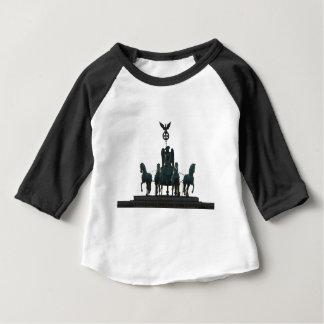 Camiseta Para Bebê Quadriga de BERLIM na porta de Brandemburgo