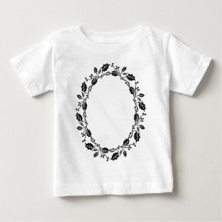Camiseta Para Bebê Quadro do azevinho