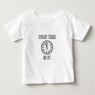 Camiseta Para Bebê quando é, pulso de disparo