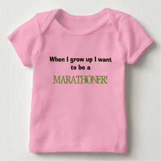 Camiseta Para Bebê Quando eu crescer acima