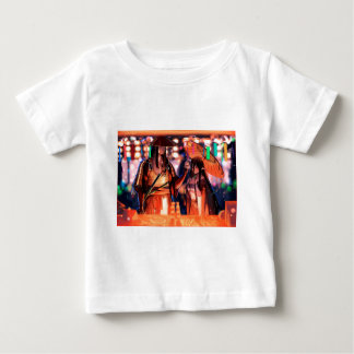 Camiseta Para Bebê Quando os guerreiros girarem para amantes