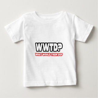 Camiseta Para Bebê Que o tigre faria? (WWTD?)