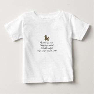 Camiseta Para Bebê Que você quer o unicórnio?