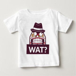 Camiseta Para Bebê que wat os dentes assustadores projetam