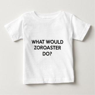 Camiseta Para Bebê Que Zoroaster faria?