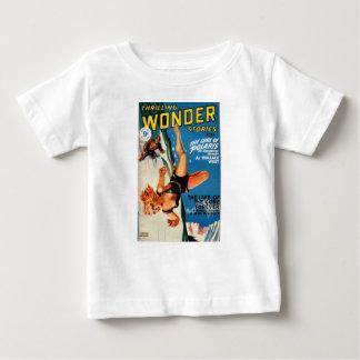 Camiseta Para Bebê Queda fora uma geleira