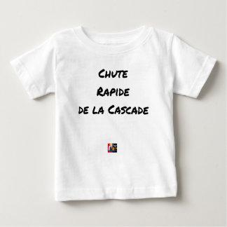 Camiseta Para Bebê QUEDA RÁPIDA da CASCATA - Jogos de palavras