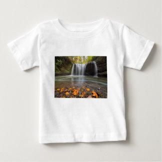Camiseta Para Bebê Quedas escondidas no Outono de Clackamas Oregon