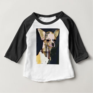 Camiseta Para Bebê Quem não ama Chiuaua?