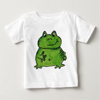 Camiseta Para Bebê Rã Frog