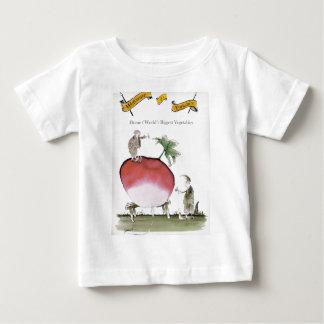 Camiseta Para Bebê Rabanete grande de Yorkshire do amor