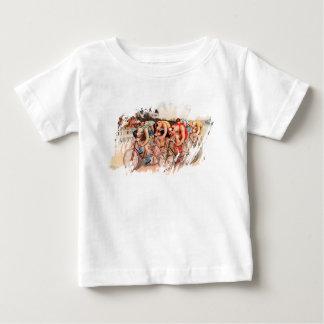Camiseta Para Bebê Raça de bicicleta