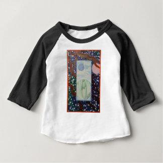 Camiseta Para Bebê Rachadura nas nuvens