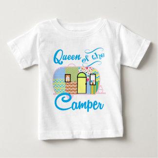 Camiseta Para Bebê Rainha do campista