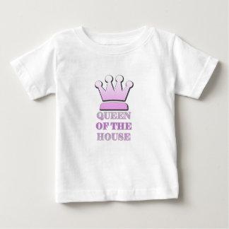 Camiseta Para Bebê Rainha do t-shirt personalizado bebê da casa