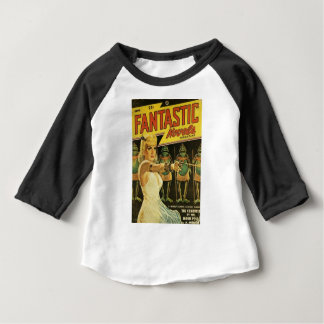 Camiseta Para Bebê Rainha dos homens de sapo