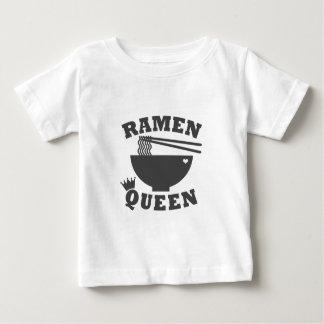 Camiseta Para Bebê Rainha dos Ramen