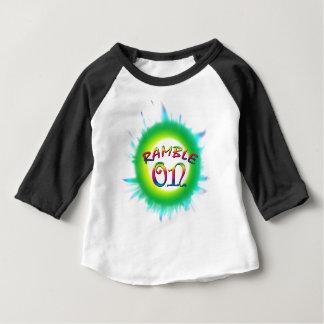 Camiseta Para Bebê Ramble sobre