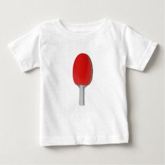 Camiseta Para Bebê Raquete do pong do sibilo